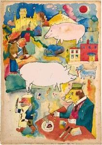 Sunny Land, George Grosz 1920