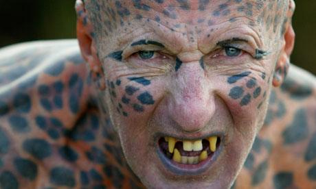 Tom Leppard, 'the Leopard Man of Skye'