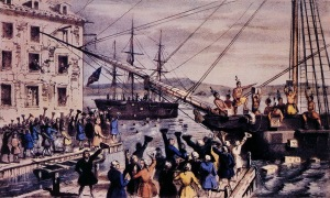 The original, 1773 Tea Party