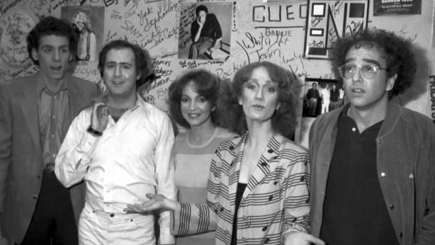 Michael Richards, Andy Kaufman, Melanie Chartoff,  Brandis Kemp, Larry David