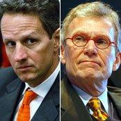 Tim Geithner and Tom Daschle