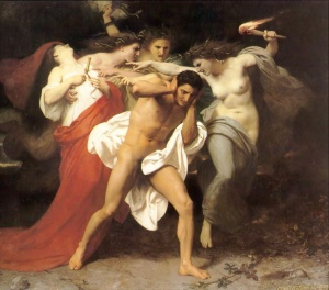 The Remorse of Orestes (1862) – apologies can help avoid an attack of the Furies!