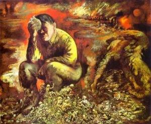 Hitler in Hell, 1944, George Grosz
