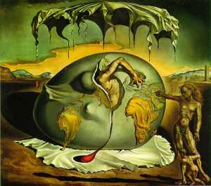 """Birth of a New Man"" Salvador Dali"