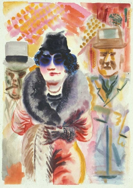 george_grosz_blue_lady